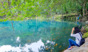 tempat wisata hits telaga biru cicerem cirebon